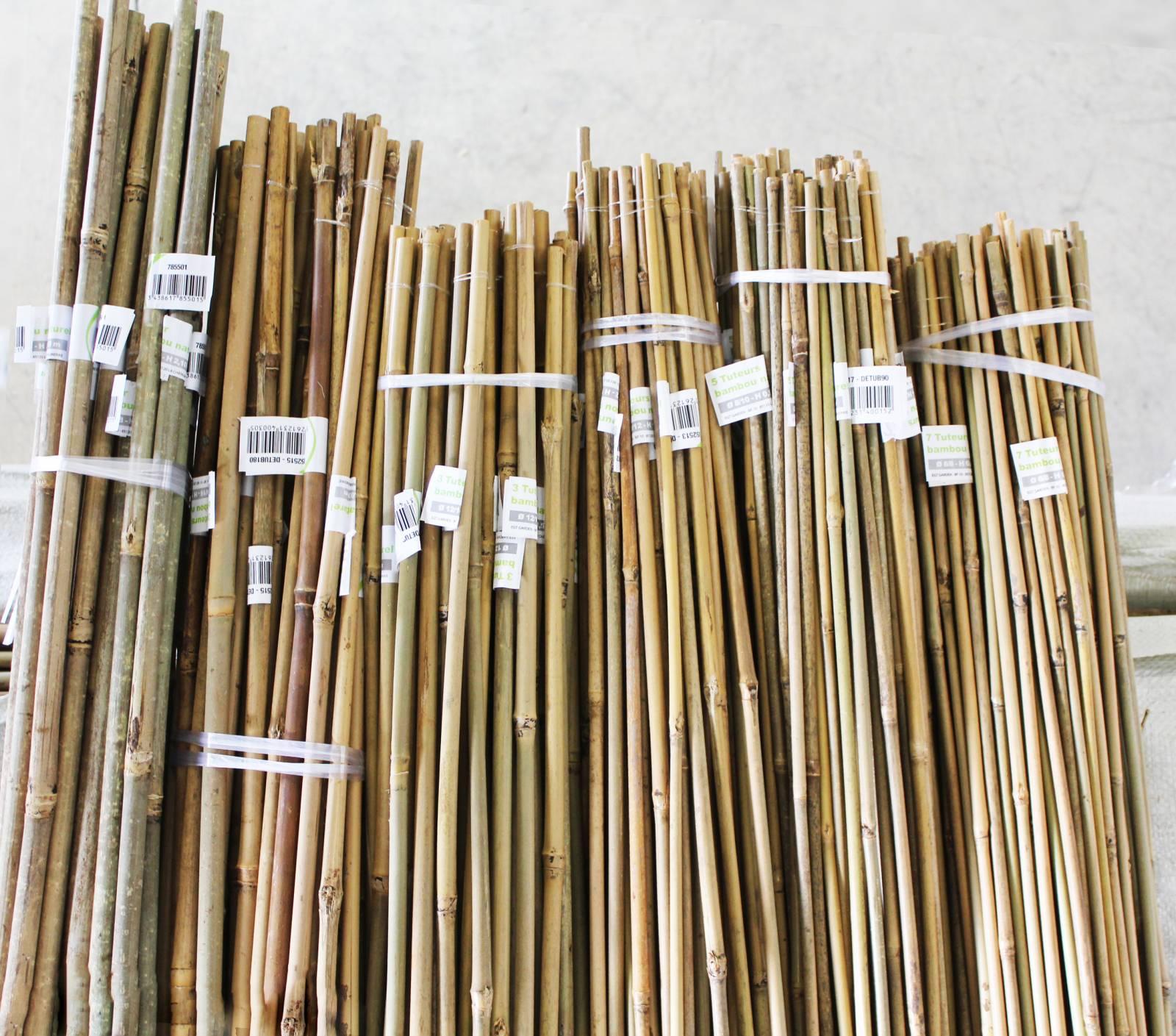 vente en gros de tuteur bambou naturel importateur de bambous et mati res v g tales naturelles. Black Bedroom Furniture Sets. Home Design Ideas