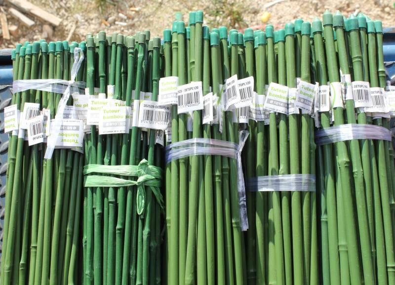 Grossiste de produits naturels pour le jardin attaches - Tuteur bambou gros diametre ...